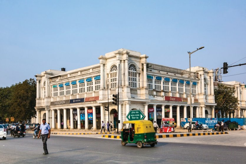 Connaught Place.
