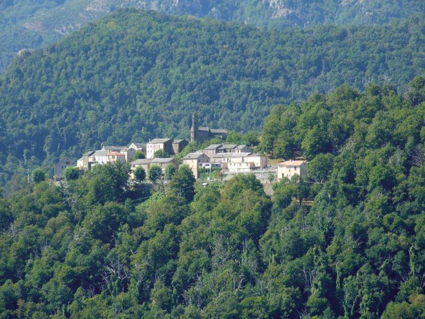 Village au coeur de la Castagniccia