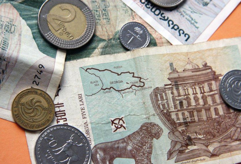 piece de monnaie georgie
