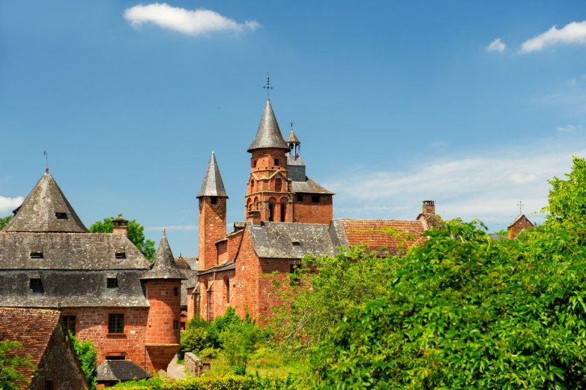 Collonges-la-Rouge.