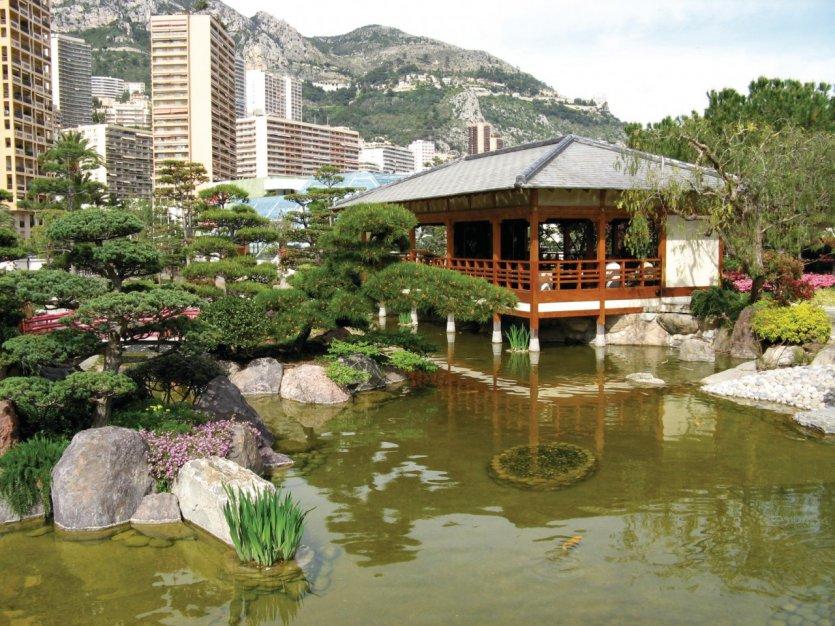 C te d 39 azur monaco guide touristique petit fut nature for Jardin japonais monaco