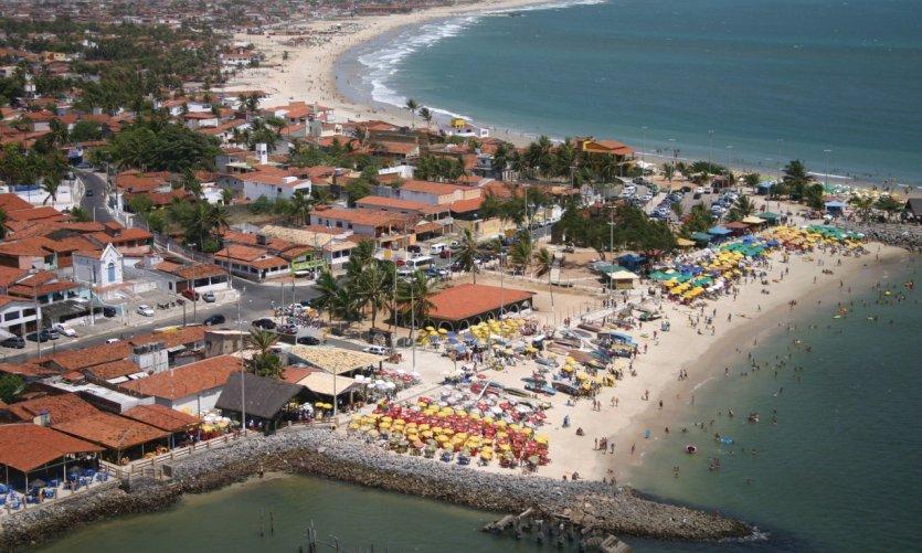 Praia da Redinha.