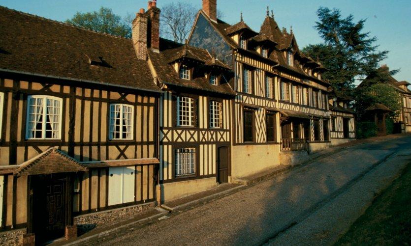 Maisons à pans de bois - Lyons-la-Forêt