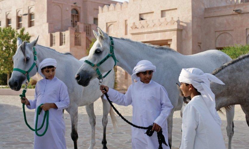 Chevaux arabes