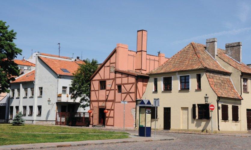 <p>Casco antiguo de Klaipeda.</p>