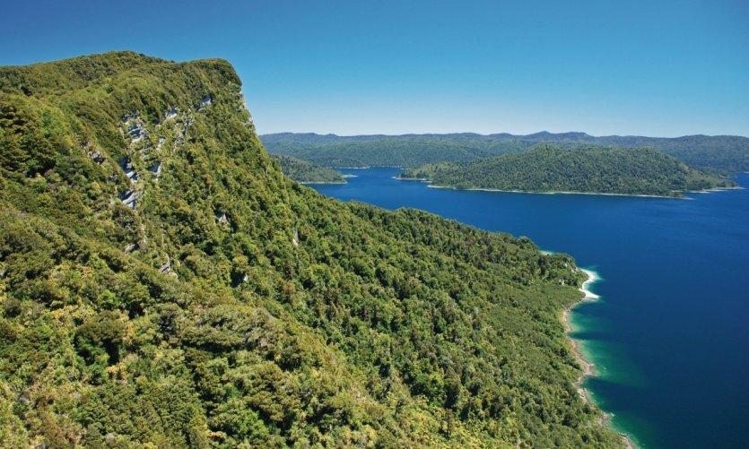 Lake Waikaremoana.