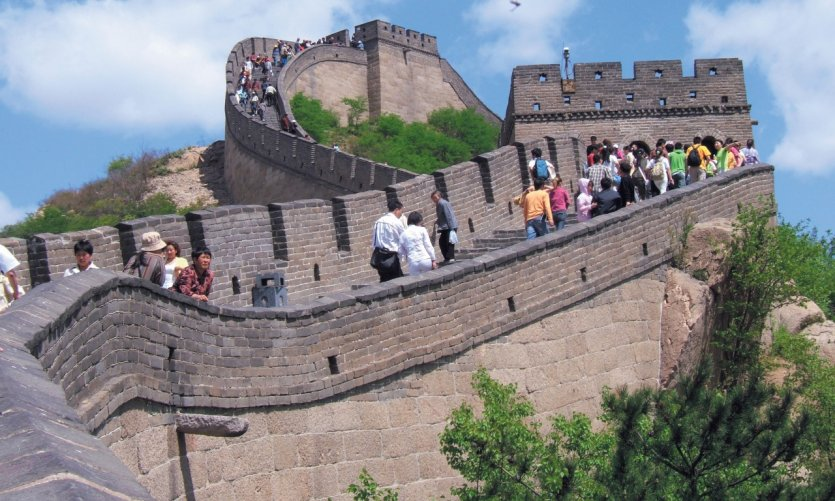 Grande Muraille de Badaling.