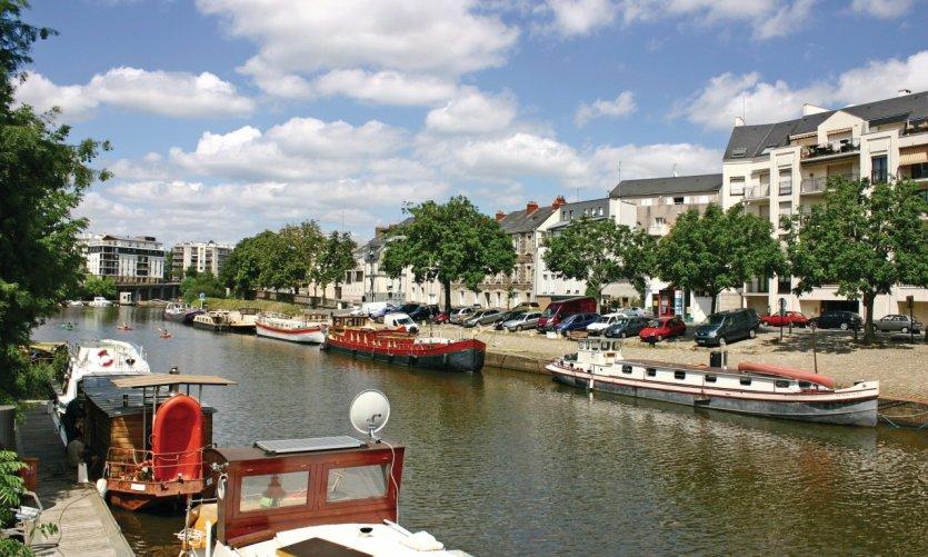Canal à Nantes