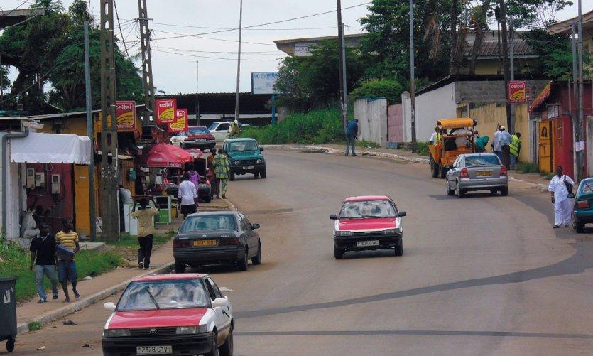 Barrio de Libreville.