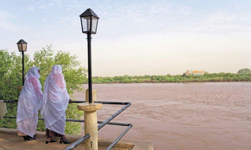 Khartoum, une ville au bord du Nil.