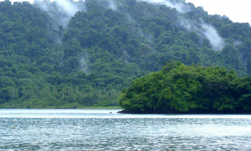 L'île de Coiba.