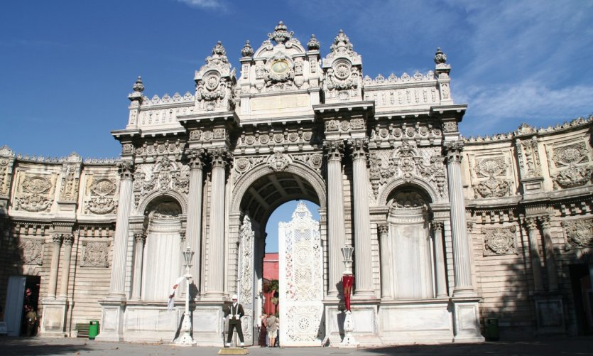 <p>Palacio de Dolmabahçe.</p>