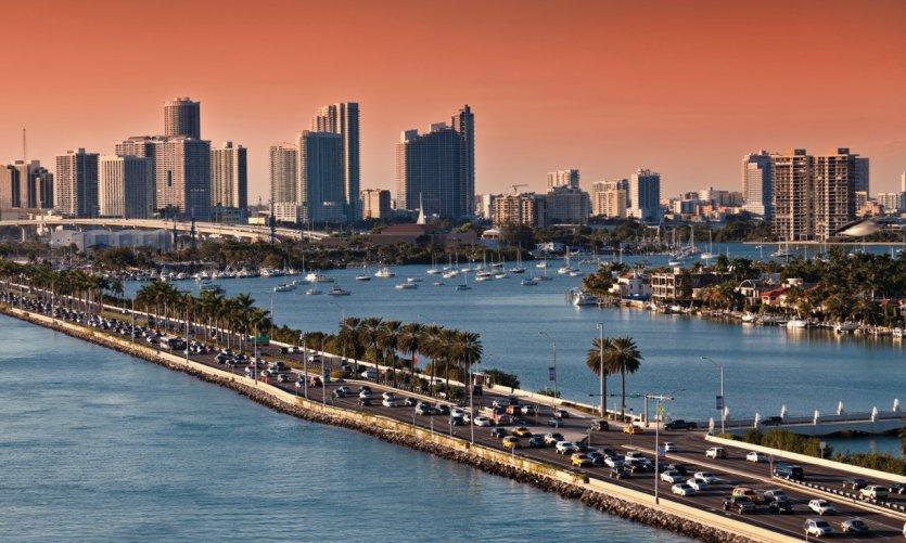 Skyline de Miami.