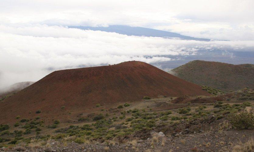 Coche al Mauna Kea.
