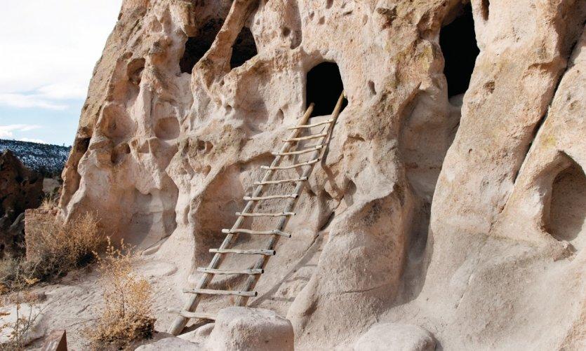 Grottes du Bandelier National Monnument.