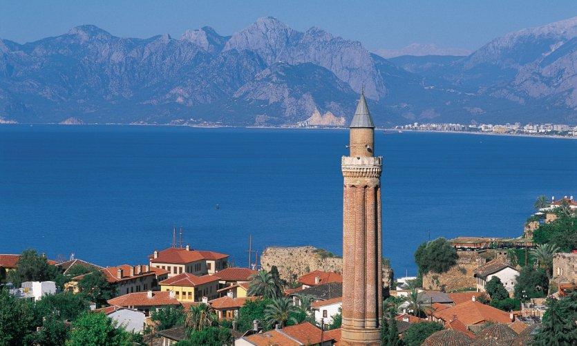 Le Yivli Minare (minaret cannelé) est le symbole d'Antalya.
