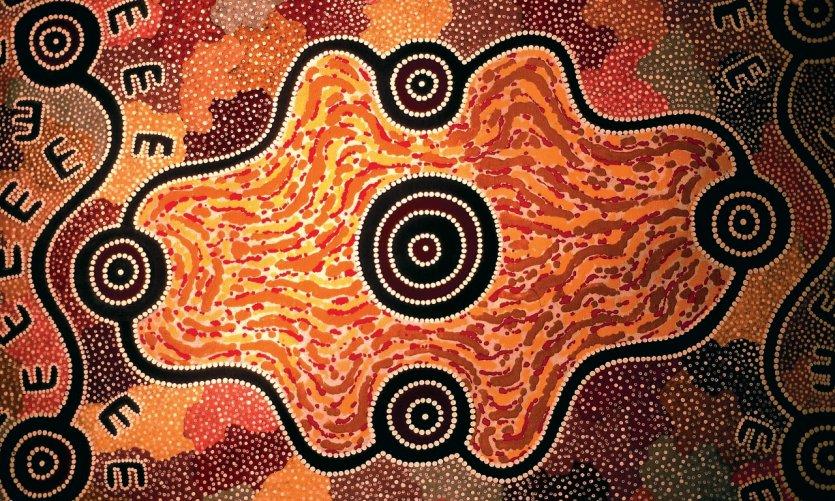 <p>Décor in a farm farm near Alice Springs.</p>