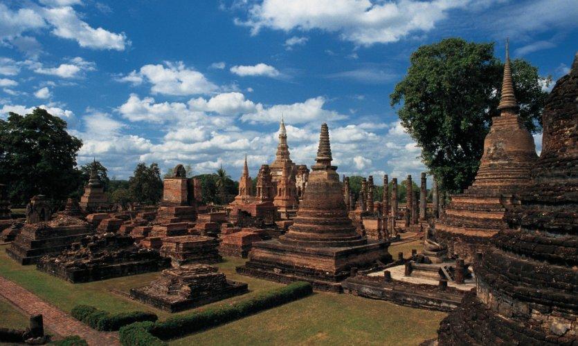Parc historique de Sukhothai.