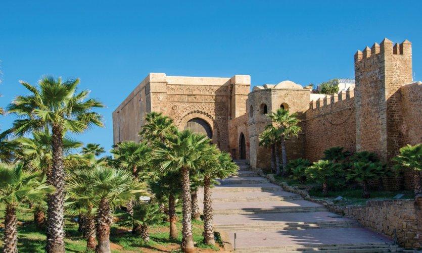 Kasbah des Oudayas à Rabat.