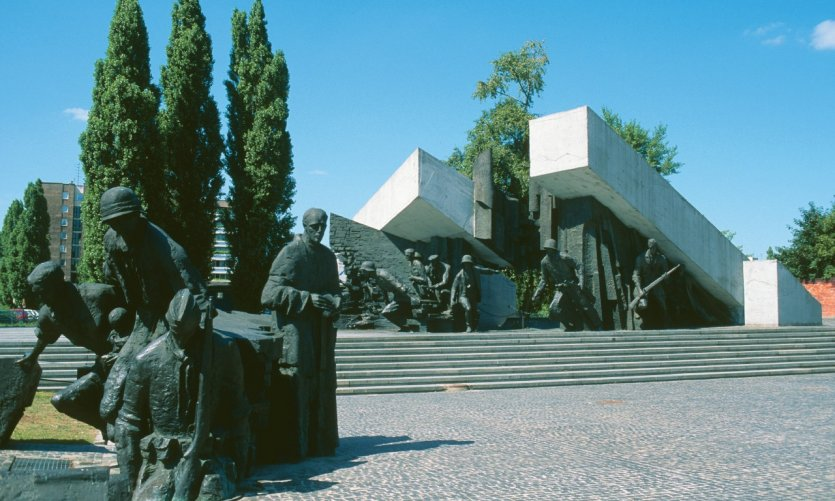 Monument de l'Insurrection de Varsovie.