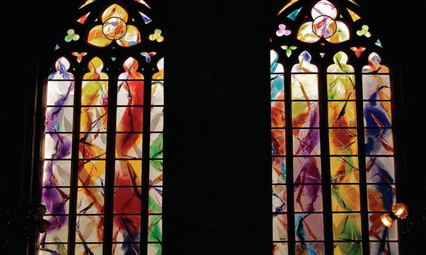 Nouveaux vitraux de la Cathédrale Saint-Paul