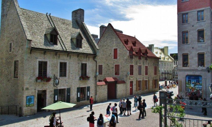 Le Vieux-Québec près de la place Royale.