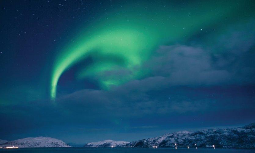 <p>Auroras boreales en el condado de Troms.</p>
