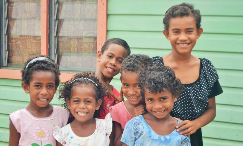 Nombreux sont les sourires récoltés lors d'un passage à Fidji.
