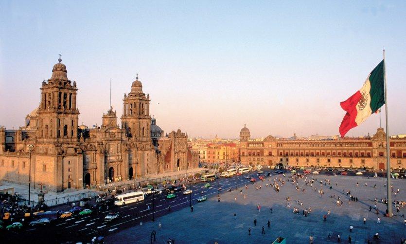 Visite Mexico Ville