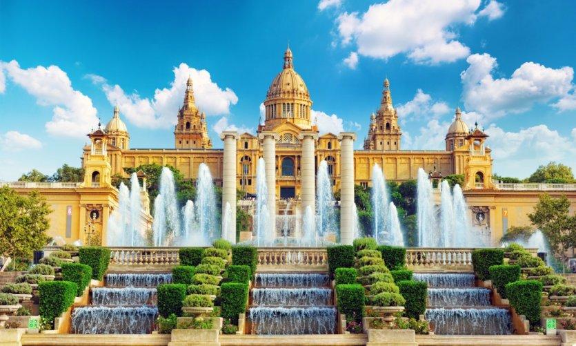 Le musée national d'art de Catalogne.