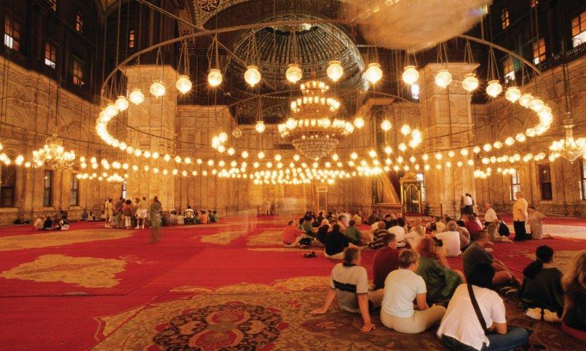 Mosquée Mohammed Ali au sein de la citadelle.