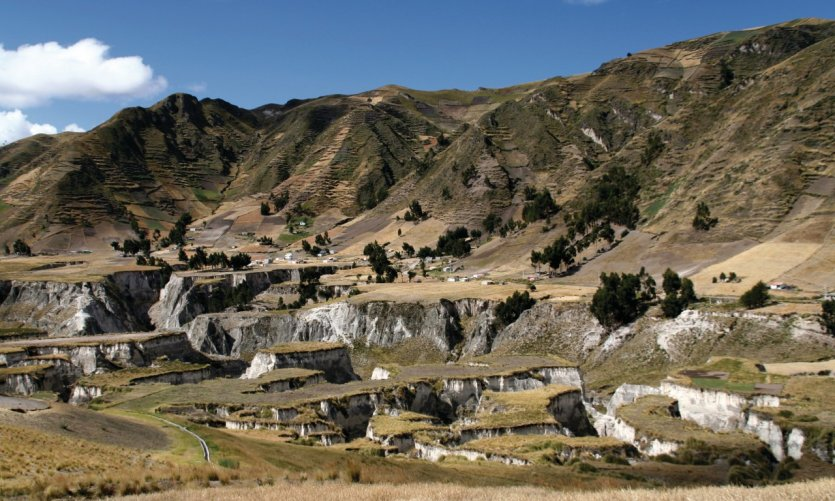 Canyons des environs de Zumbahua