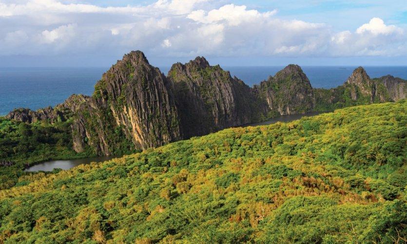 Mosaique de paysages en Nouvelle-Calédonie