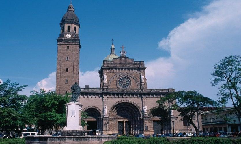 Cathédrale de Manille.