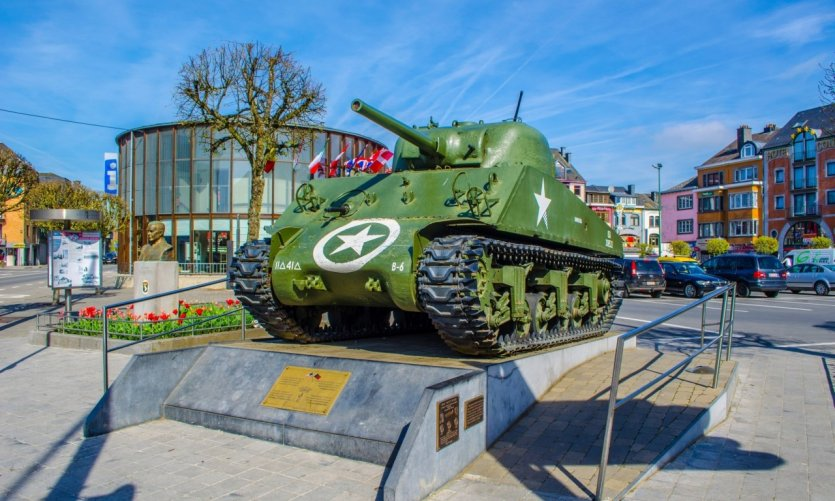 <p>Bastogne Barracks.</p>