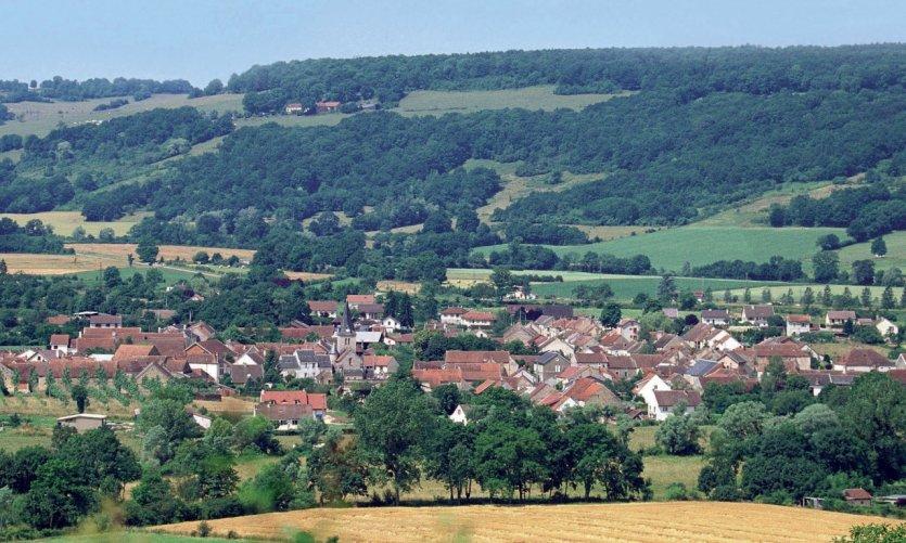 Vue générale de Pouillenay