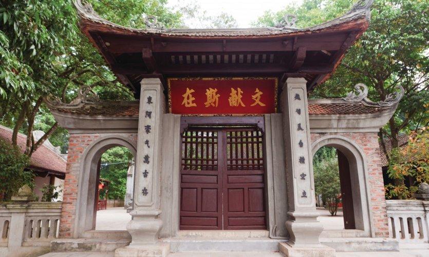 Temple Den Thuong.