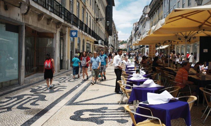 Rua Augusta, Lisbon.