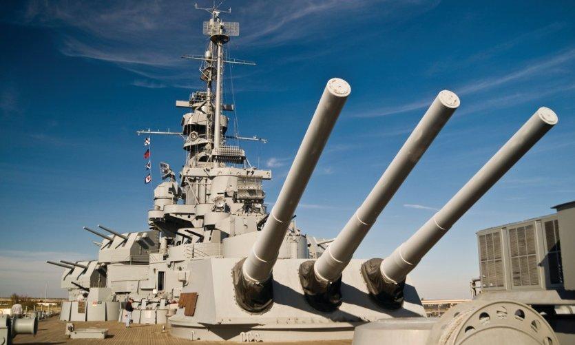 USS Alabama Battleship.