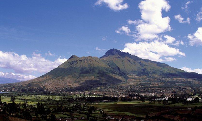 Volcan Imbabura.