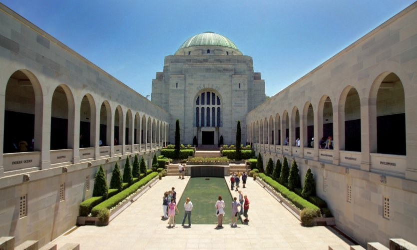 The Australian War Memorial.