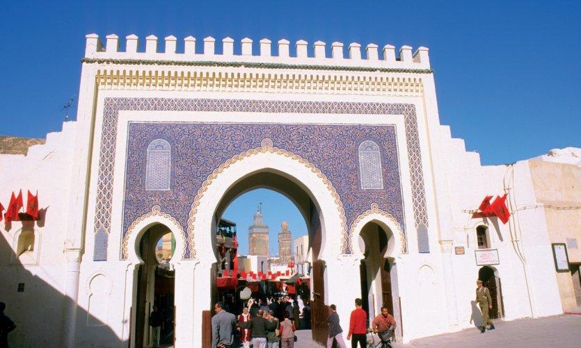 Bab Boujloud.