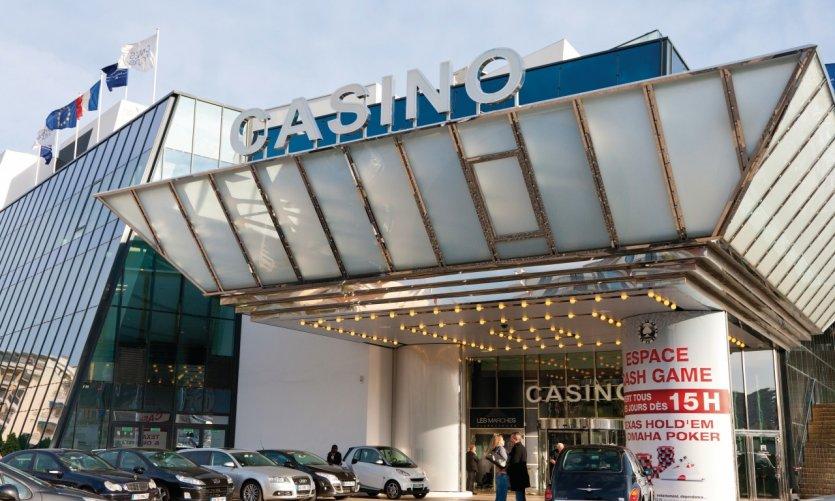 Le casino Barrière sur la Croisette
