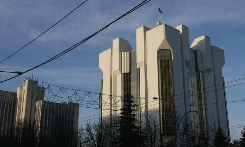 Palais de la Présidence bd Stefan cel Mare.