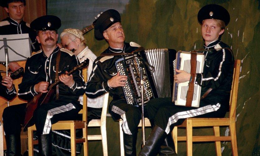 Musiciens cosaques.