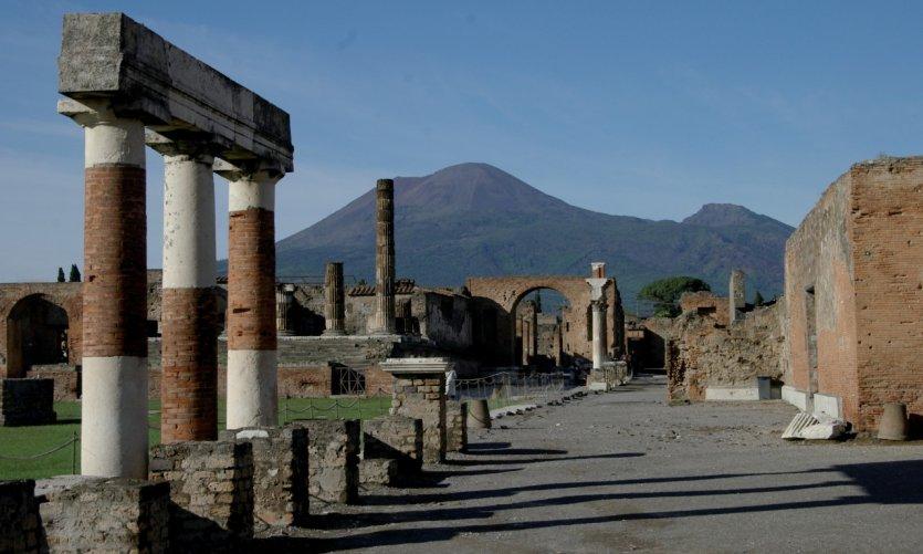 Forum de Pompéi.