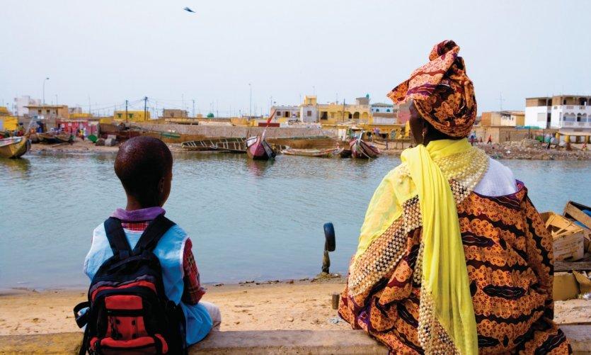 Watch-Ndar, fishing village.