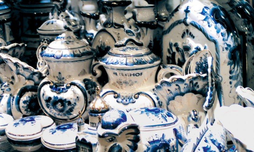 Porcelaine de Gjel.