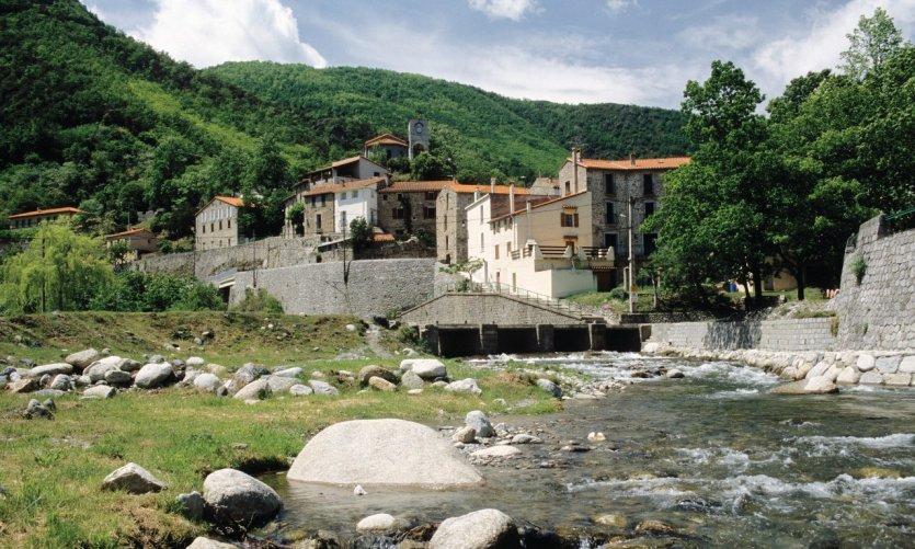 Le Tech, un vieux village du Haut Vallespir
