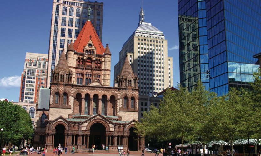 Copley Square à Boston.